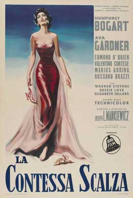 The Barefoot Contessa - 27 x 40 Movie Poster - Italian Style A