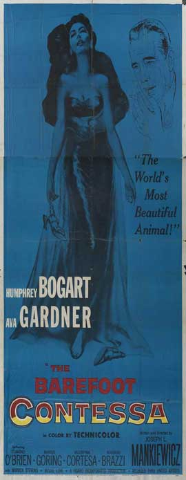 The Barefoot Contessa - 14 x 36 Movie Poster - Insert Style A