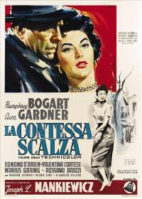 The Barefoot Contessa - 11 x 17 Movie Poster - Italian Style B