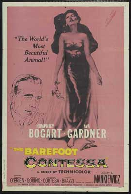 The Barefoot Contessa - 27 x 40 Movie Poster - Style B