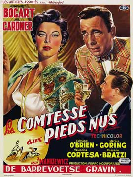 The Barefoot Contessa - 11 x 17 Movie Poster - Belgian Style B