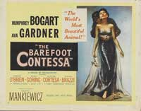 The Barefoot Contessa - 22 x 28 Movie Poster - Half Sheet Style B