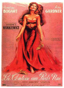 The Barefoot Contessa - 11 x 17 Movie Poster - French Style A