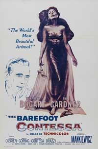 The Barefoot Contessa - 43 x 62 Movie Poster - Bus Shelter Style A