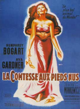The Barefoot Contessa - 27 x 40 Movie Poster - French Style B