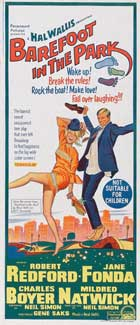 Barefoot in the Park - 13 x 30 Movie Poster - Australian Style A