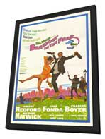 Barefoot in the Park - 27 x 40 Movie Poster - Style A - in Deluxe Wood Frame