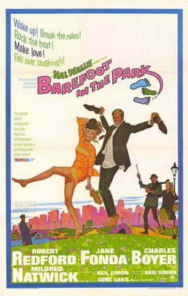 Barefoot in the Park - 11 x 17 Movie Poster - Style A