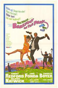Barefoot in the Park - 43 x 62 Movie Poster - Bus Shelter Style A