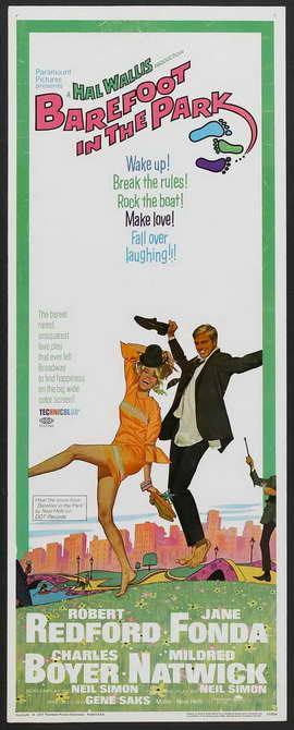 Barefoot in the Park - 14 x 36 Movie Poster - Insert Style A