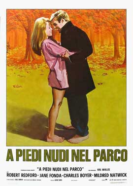 Barefoot in the Park - 11 x 17 Movie Poster - Italian Style A
