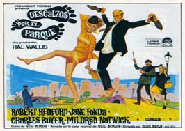 Barefoot in the Park - 11 x 17 Movie Poster - Spanish Style A