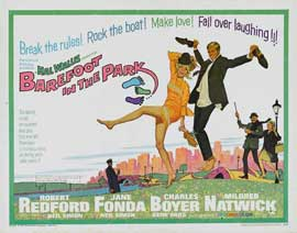 Barefoot in the Park - 11 x 14 Movie Poster - Style I