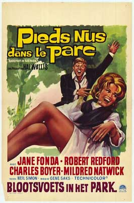 Barefoot in the Park - 11 x 17 Movie Poster - Belgian Style A