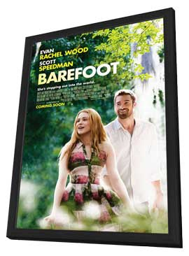 Barefoot - 11 x 17 Movie Poster - Style A - in Deluxe Wood Frame