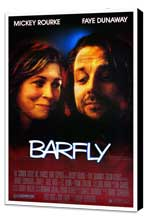 Barfly - 27 x 40 Movie Poster - Style A - Museum Wrapped Canvas