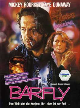 Barfly - 11 x 17 Movie Poster - German Style A
