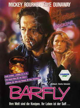 Barfly - 27 x 40 Movie Poster - German Style A