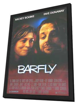 Barfly - 11 x 17 Movie Poster - Style A - in Deluxe Wood Frame