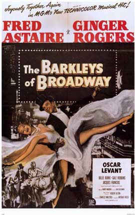 The Barkleys of Broadway - 11 x 17 Movie Poster - Style A