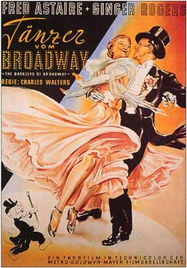 The Barkleys of Broadway - 11 x 17 Movie Poster - German Style A