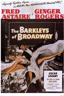 The Barkleys of Broadway - 27 x 40 Movie Poster - Style A