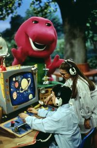 Barney & Friends - 8 x 10 Color Photo #1