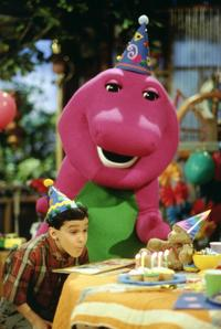 Barney & Friends - 8 x 10 Color Photo #2