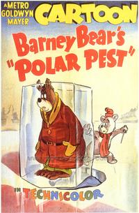 Barney Bear's Polar Fest - 43 x 62 Movie Poster - Bus Shelter Style A