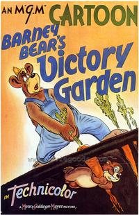 Barney Bear's Victory Garden - 43 x 62 Movie Poster - Bus Shelter Style A