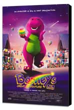 Barney's Great Adventure - 27 x 40 Movie Poster - Style A - Museum Wrapped Canvas