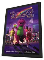 Barney's Great Adventure - 11 x 17 Movie Poster - Style B - in Deluxe Wood Frame