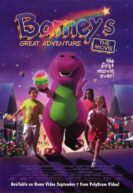 Barney's Great Adventure - 11 x 17 Movie Poster - Style B
