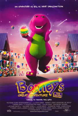 Barney's Great Adventure - 27 x 40 Movie Poster - Style A