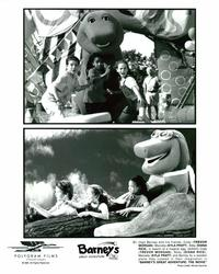 Barney's Great Adventure - 8 x 10 B&W Photo #1