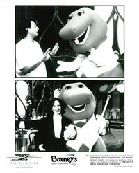 Barney's Great Adventure - 8 x 10 B&W Photo #3