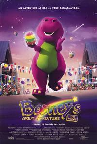 Barney's Great Adventure - 43 x 62 Movie Poster - Bus Shelter Style A