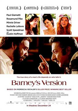 Barney's Version - 11 x 17 Movie Poster - Style A