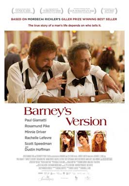 Barney's Version - 11 x 17 Movie Poster - Style C