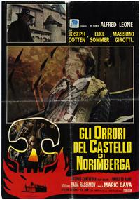 Baron Blood - 11 x 17 Movie Poster - Italian Style A