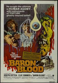Baron Blood - 43 x 62 Movie Poster - Bus Shelter Style A
