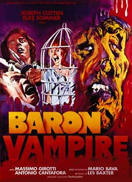 Baron Blood - 11 x 17 Movie Poster - French Style A