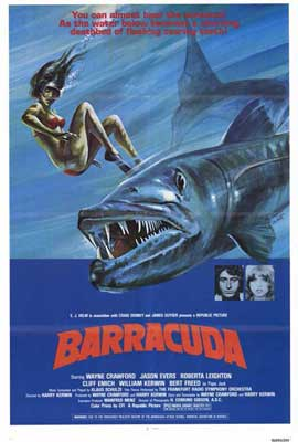 Barracuda - 27 x 40 Movie Poster - Style A