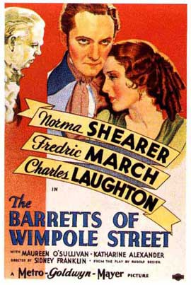The Barretts of Wimpole Street - 11 x 17 Movie Poster - Style A