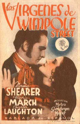 The Barretts of Wimpole Street - 11 x 17 Movie Poster - Spanish Style A