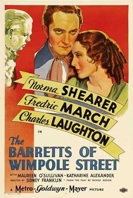 The Barretts of Wimpole Street - 11 x 17 Movie Poster - Style B