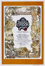 Barry Lyndon - 27 x 40 Movie Poster - Style E