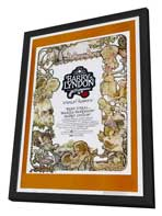 Barry Lyndon - 27 x 40 Movie Poster - Style E - in Deluxe Wood Frame