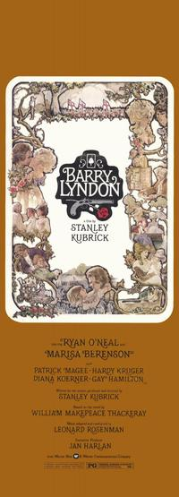 Barry Lyndon - 11 x 17 Movie Poster - Style B