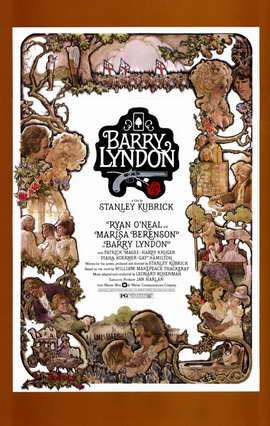 Barry Lyndon - 11 x 17 Movie Poster - Style C